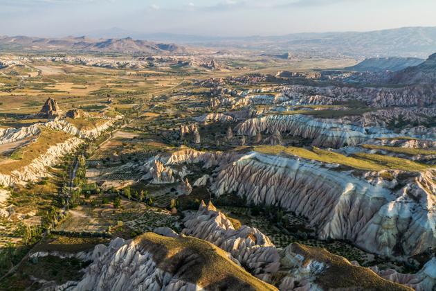 Ancienne région d'Anatolia a Cappadocia turquie