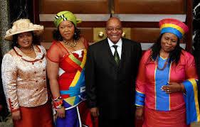 Jacob Zuma est ses épouses