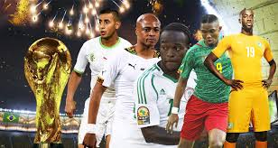 equipes africaines en coupe du monde Bresil 2014